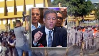 Militarizan la JCE por convocatoria de Leonel Fernández