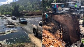 Peligro en zonas montañosas de Puerto Rico