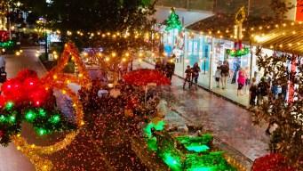 """9 lugares donde """"nevará"""" en Florida Central esta navidad"""