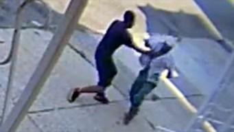 Video: Arranca cadena despiadadamente en plena calle