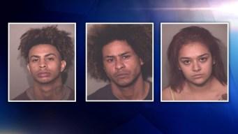 Arrestan a tres acusados de secuestrar a una mujer