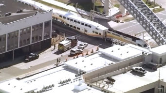 Accidente con SunRail provoca cierre de Colonial Dr.
