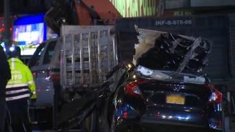 Aparatoso choque deja un muerto en Washington Heights
