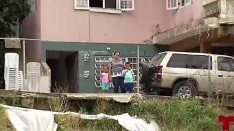 Temen que su casa colapse en cualquier momento