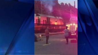 Testigos narran incendio en tren de MBTA