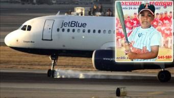 Madre acusa a JetBlue de enviarle el hijo equivocado