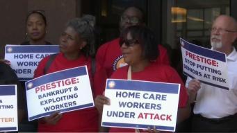 Trabajadores en Worcester exigen pago de salarios