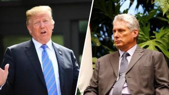 Díaz-Canel culpa a Trump de la escasez de combustible