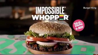 "Demandan a Burger King por la ""Impossible Whopper"""