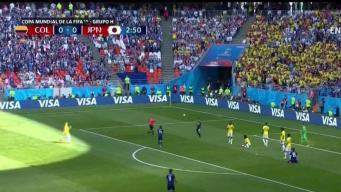 Victoria de Japón contra Colombia