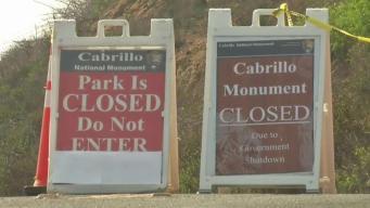 Consecuencias del cierre de gobierno en California