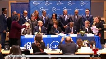 Acuerdo entre universidades y República Dominicana