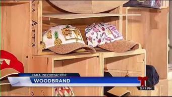 Wood Brand: Inmortalizan escombros en gorras exclusivas