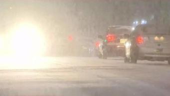 Worcester recibe varias pulgadas de nieve