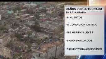 Ya son 6 los muertos tras tornado en La Habana