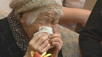 Anciana de 116 años cumple su sueño de récord mundial