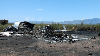 Investigan causas de mortal accidente aéreo en México