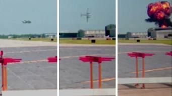 Revelan video de mortal accidente de avión en Texas