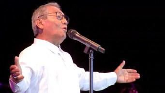 Armando Manzanero deslumbra en Cuba