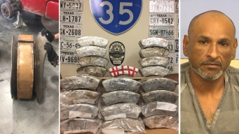 $4.8 millones en droga oculta en las llantas de un auto