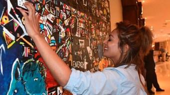 Arte para invidentes: crean pinturas tridimensionales