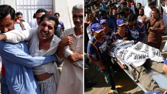 Pakistán: 38 muertos por dos atentados en un mismo día