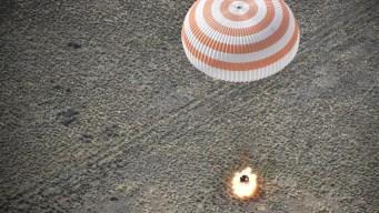 Nave rusa tripulada aterriza en Kazajistán