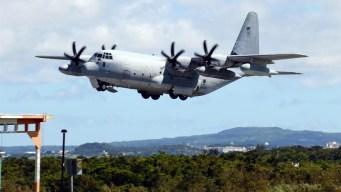 Chocan aviones militares de EEUU; hay desaparecidos