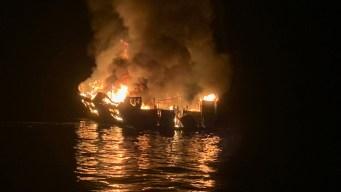 FBI allana empresa de barco cuyo incendio dejó 34 muertos