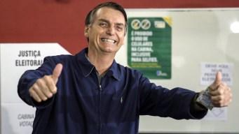 "Bolsonaro, el ""Trump brasileño"", gana la primera vuelta"