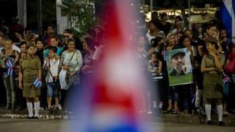 Cenizas de Fidel Castro llegaron a Santiago
