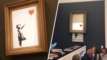 Valiosa obra de arte se autodestruye tras ser vendida