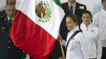 Presidente dice adiós a los atletas mexicanos