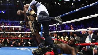 Wilder noquea en el primer round y retiene la corona
