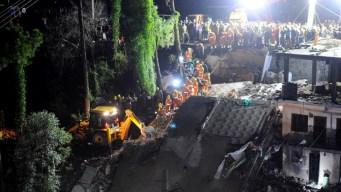 India: derrumbe de edificio deja muertos y heridos