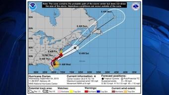 Posibles impactos de Dorian en Nueva Inglaterra