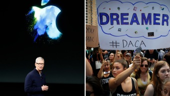 Apple se mete en la batalla legal a favor de los dreamers