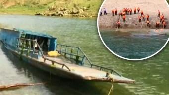 Tragedia en un río: vuelca embarcación y hay muertos