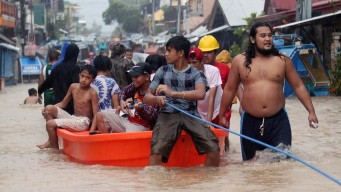 Filipinas: tormenta deja 68 muertos y 129,000 desplazados