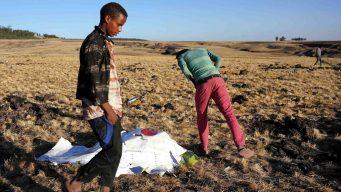 Hallan cajas negras de avión que se estrelló en Etiopía
