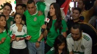 Mexicanos en NY optimistas para el tricolor