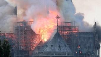 NYC se solidariza con París por incendio de catedral Notre Dame