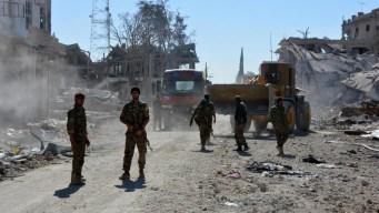 Un paseo por el infierno de ISIS: sus escondites