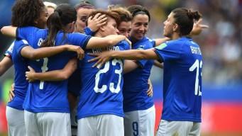 Aurora Galli marca uno de los mejores goles del Mundial: imparable