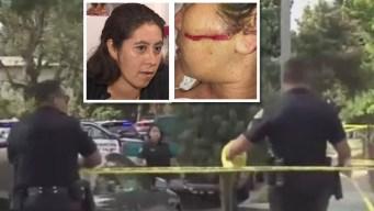 Mujer atacada con una motosierra rompe el silencio