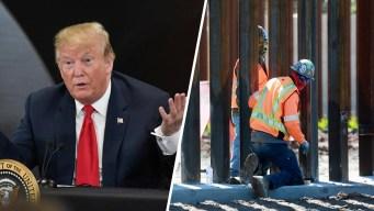 """Trump: """"Haré mi más grande anuncio sobre la frontera"""""""