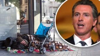 Presupuesto de Newsom aborda la falta de vivienda