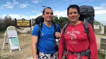 Padre e hijo recorren las dos mil millas de la frontera