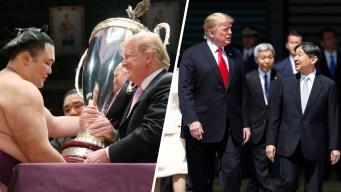 Trump en Japón: lo que le regaló al nuevo emperador