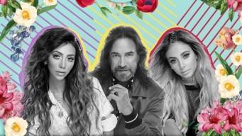 Marco Antonio Solís estrena video junto a sus bellas hijas